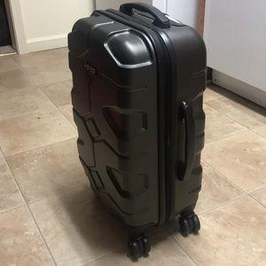 24a89ff2486 Bags   Black Hard Shell Jeep Suitcase   Poshmark